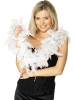 Deluxe Feather Boa Black, Red or white